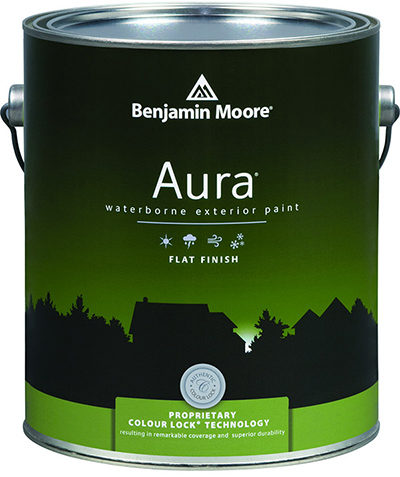 Aura exterior paint Benjamin Moore Paints - Airdrie Paint and Decor