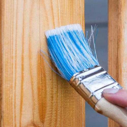 Fence Painting Blog Section - Airdrie Paint and Decor